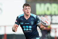 Picture by Allan McKenzie/SWpix.com - 25/03/2018 - Rugby League - Betfred Championship - Batley Bulldogs v Featherstone Rovers - Heritage Road, Batley, England - Brad Knowles.