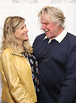 Gary Busey with wife Steffanie Sampson attend a photo call for his stage debut in 'Perfect Crime'  at The Theater Center on November 10, 2016 in New York City.