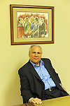 David Protess is seen in the new offices of the Chicago Innocence Project, the non-profit Protess recently started, in downtown Chicago, Illinois on June 15, 2011.