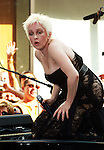 "New York, NY - August 4, 2006:Cyndi Lauper performs on NBC's ""Today Show"" Toyota Concert Series at Rockefeller Plaza in New York City, New York on Friday, August 4, 2006."