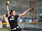 Western Nevada&rsquo;s McKell Marble pitches against College of Southern Nevada at Edmonds Sports Complex in Carson City, Nev., on Friday, April 1, 2016. <br />Photo by Cathleen Allison/Nevada Photo Source