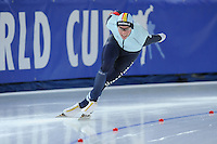 SPEED SKATING: STAVANGER: Sørmarka Arena, 31-01-2016, ISU World Cup, 1000m Men Division B, Bart Swings (BEL), ©photo Martin de Jong