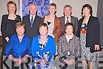 Pictured at the Knocknagree GAA social in the Killarney Oaks hotel on Saturday night were Eileen O'Leary, Sheila McSweeeny, Anna O'Mahony, Marita Hickey, Brendan Hickey, Deirdre Buckley, Neily Mahony and Margaret Murphy.