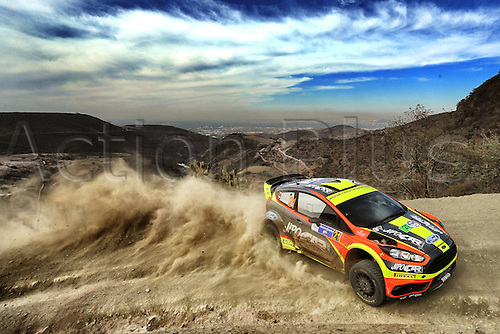 03.03.2016. Leon, Mexico. WRC rally of Mexico. Shakedown and SS1 and SS2.  Martin Prokop (CZE) and Jan Tomanek(CZE) - Ford Fiesta WRC