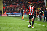 Jack O'Connell of Sheffield Utd during the Championship league match at Bramall Lane Stadium, Sheffield. Picture date 28th April, 2018. Picture credit should read: Harry Marshall/Sportimage