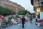 Mcc0070043 . Daily Telegraph<br /> <br /> DT News<br /> <br /> Street scenes in the old centre of Erbil, the capital of oil rich Iraqi Kurdistan, a semi independent quasi state which is remarkably stable compared to Iraq's capital Baghdad . Supported by western allies, particularly the United States, the Kurdish Peshmerga forces saved Erbil from the brink of being overrun by ISIS two years ago .<br /> <br /> Erbil 14 May 2016