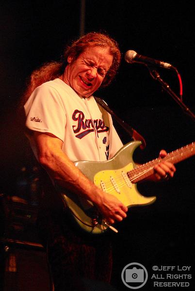 Austin musician Chris Duarte performs during Grapefest in Grapevine, Texas, September 12, 2008.