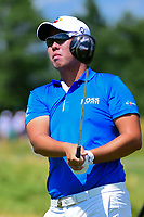 Byeong Hun An (KOR) watches his tee shot on 12 during Thursday's round 1 of the 117th U.S. Open, at Erin Hills, Erin, Wisconsin. 6/15/2017.<br /> Picture: Golffile | Ken Murray<br /> <br /> <br /> All photo usage must carry mandatory copyright credit (&copy; Golffile | Ken Murray)