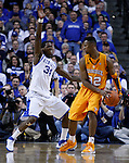 DeAndre Liggins guards Scotty Hopson at Rupp Arena on Tuesday, February 8, 2011.  UK won 73-61.  Photo by Latara Appleby | Staff