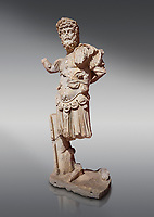 Roman statue of Emperor Septimus Severus. Marble. Perge. 2nd century AD. Inv no 3266 . Antalya Archaeology Museum; Turkey.