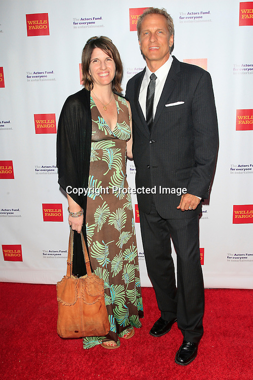 LOS ANGELES - JUN 7: Patrick Fabian, Mandy Fabian at the Actors Fund's 19th Annual Tony Awards Viewing Party at the Skirball Cultural Center on June 7, 2015 in Los Angeles, CA