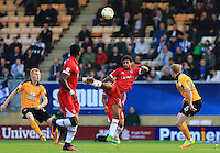 Anybodies ball in the middle of the park during the Sky Bet League 2 match between Cambridge United and Grimsby Town at the R Costings Abbey Stadium, Cambridge, England on 15 October 2016. Photo by PRiME Media Images.