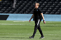 18th July 2020; Craven Cottage, London, England; English Championship Football, Fulham versus Sheffield Wednesday; A dejected Sheffield Wednesday Manager Garry Monk after the 5-3 loss