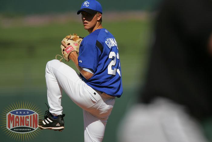 Zack Greinke. Baseball: Chicago White Sox vs Kansas City Royals, Surprise, AZ 3/16/2005 MANDATORY CREDIT: Brad Mangin/Sports Illustrated