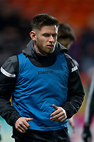 27th December 2019; Dens Park, Dundee, Scotland; Scottish Championship Football, Dundee Football Club versus Dundee United; Calum Butcher of Dundee United during the warm up before the match  - Editorial Use