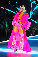 NEW YORK, NY - NOVEMBER 08: Bebe Rexha at the 2018 Victoria's Secret Fashion Show at Pier 94 on November 8, 2018 in New York City. Credit: John Palmer/MediaPunch