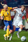 Anna Paulson, Kelly Smith, Sweden-England, Women's EURO 2009 in Finland, 08312009, Turku, Veritas Stadium.