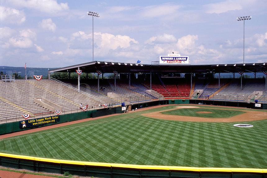 baseball, stadium, Williamsport, Pennsylvania, PA, Little League World Series Baseball Field, Howard J. Lamade Stadium.