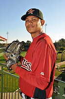 Feb 25, 2010; Kissimmee, FL, USA; The Houston Astros pitcher Wilton Lopez (59) during photoday at Osceola County Stadium. Mandatory Credit: Tomasso De Rosa / Four Seam Images