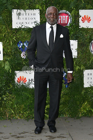 Richard Roundtree at Charity ball in aid of One For The Boys, a charity raising awareness of male forms of cancer, encouraging men to get checked regularly. Evening celebrates the launch of the 2016 campaign film The Difference, at Victoria and Albert Museum, London, England June 12, 2016.<br /> CAP/JOR<br /> &copy;JOR/Capital Pictures /MediaPunch ***NORTH AND SOUTH AMERICAS ONLY***