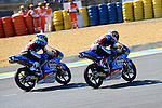 Le Mans GP de France<br /> Monster Energy Grand Prix de France during the world championship 2014.<br /> 16-05-2014<br /> CEV Repsol_Moto3 Race<br /> fabio quartararo<br /> maria herrera<br /> PHOTOCALL3000/RM