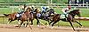 Bryan's Jewel winning The John W. Rooney Memorial Stakes at Delaware Park on 6/8/13