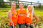 Elma O'Brien, Fiona O'Connor and Marilyn O'Shea taking part in the Ultra 40 miler with Born to Run on Saturday