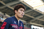 Takehiro Tomiyasu of Bologna during the Serie A match at Stadio Grande Torino, Turin. Picture date: 12th January 2020. Picture credit should read: Jonathan Moscrop/Sportimage