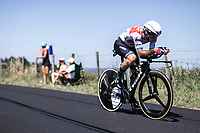 Julien Bernard (FRA/Trek Segafredo) <br /> <br /> Stage 13: ITT - Pau to Pau (27.2km)<br /> 106th Tour de France 2019 (2.UWT)<br /> <br /> ©kramon