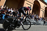 11th May 2019, Bologna, Italy; GiroD'Italia Cycling, stage 1, Bologna to San Luca; Tao Geoghegan Hart (GBr) in action during the Individual Time Trial