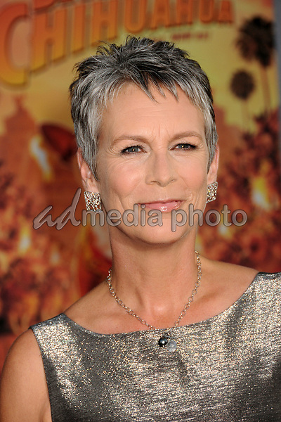 "18 September 2008 - Hollywood, California - Jamie Lee Curtis. ""Beverly Hills Chihuahua"" Los Angeles Premiere at the El Capitan Theatre. Photo Credit: Byron Purvis/AdMedia"