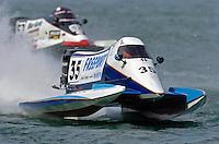Mike Klepadlo, #35 and Ken Brunner, #52 (SST-120 class)