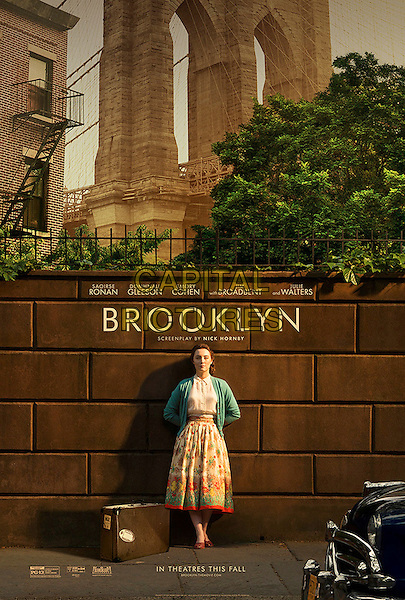 BROOKLYN (2015)<br /> POSTER<br /> *Filmstill - Editorial Use Only*<br /> CAP/FB<br /> Image supplied by Capital Pictures