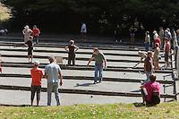 Concours de boules bretonnes durant le festival