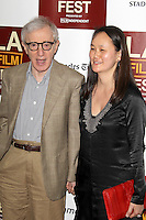 Woody Allen and Soon-Yi at Film Independent's 2012 Los Angeles Film Festival Premiere of 'To Rome With Love' at Regal Cinemas L.A. LIVE Stadium 14 on June 14, 2012 in Los Angeles, California. &copy;&nbsp;mpi21/MediaPunch Inc. NORTEPHOTO.COM<br />