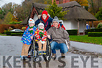 Mike, Liam, Aoife and Nigel Kearney after visit to Santa at Deenagh Lodge runned by Kerry Down Syndrome last Sunday.