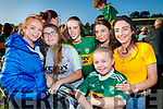 Shauna O'Leary, Jenny Healy, Molly Rowe, Kate Lynch O'Doherty, Marie O'Shea and Rebecca O'Leary, all from Kilcummin, pictured at the Kerry Minor home coming at Kilcummin GAA pitch on Monday night last.