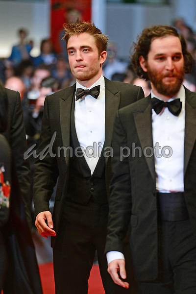 "25 May 2017 - Cannes, France - Robert Pattinson, Joshua Safdie. ""Good Time"" Premiere - The 70th Annual Cannes Film Festival. Photo Credit: Jan Sauerwein/face to face/AdMedia"
