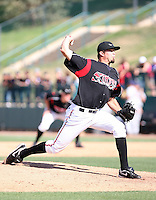 Aaron Breit  -  Lake Elsinore Storm playing against the Lancaster JetHawks at the Diamond, Lake Elsinore, CA - 05/16/2010.Photo by:  Bill Mitchell/Four Seam Images