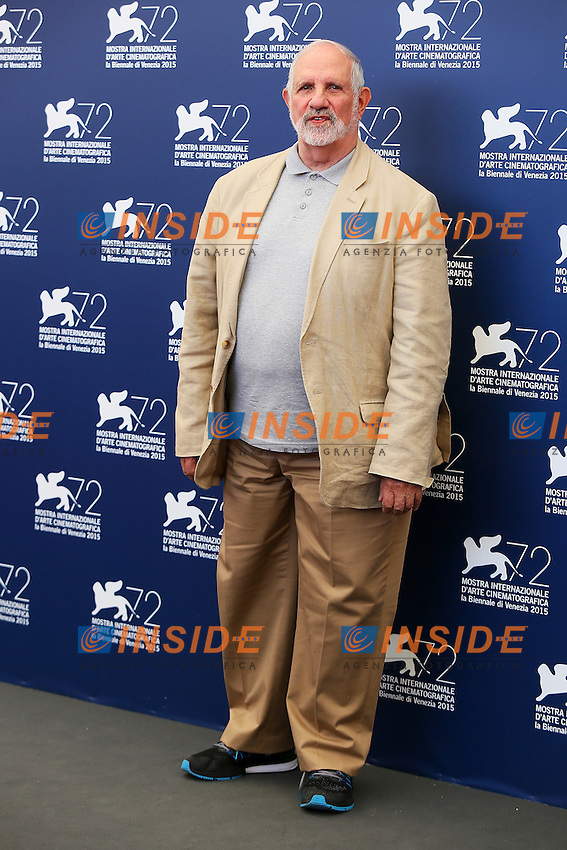VENICE, ITALY - SEPTEMBER 09: Brian De Palma attends 'The Wait' Photocall during 72nd Venice Film Festival at Palazzo Del Cinema on September 9, 2015 in Venice, Italy. (Mark Cape/insidefoto)