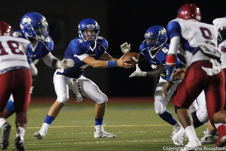 Boswell plays Southwest in high school football in Fort Worth on Friday, August 29, 2014. (photo by Khampha Bouaphanh)