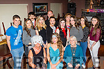 18 wishes<br /> -------------<br /> Jessica Healy, Castleisland, seated centre, had a cool 18th birthday party in O'Riada's bar, Ballymac last Friday night along with many friends and family