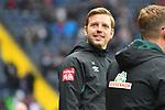 06.10.2019, Commerzbankarena, Frankfurt, GER, 1. FBL, Eintracht Frankfurt vs. SV Werder Bremen, <br /> <br /> DFL REGULATIONS PROHIBIT ANY USE OF PHOTOGRAPHS AS IMAGE SEQUENCES AND/OR QUASI-VIDEO.<br /> <br /> im Bild: Florian Kohlfeldt (Trainer, SV Werder Bremen) <br /> <br /> Foto © nordphoto / Fabisch