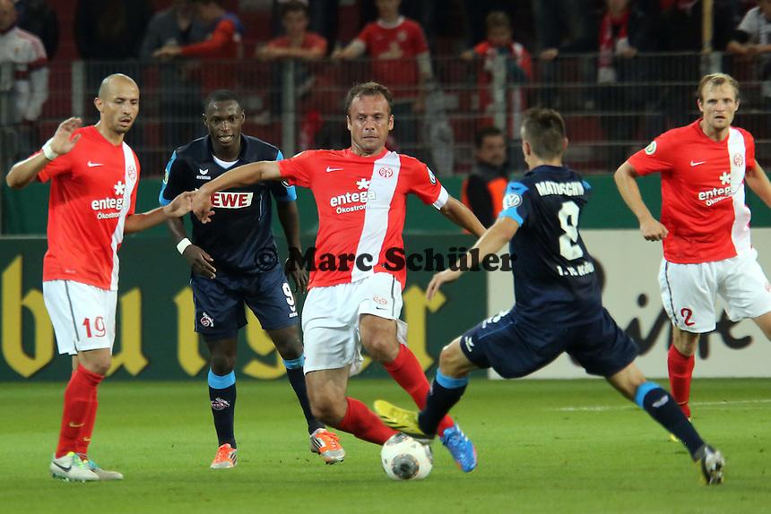 Nikolce Noveski (Mainz) - 1. FSV Mainz 05 vs. 1. FC Köln, Coface Arena, 2. Runde DFB-Pokal
