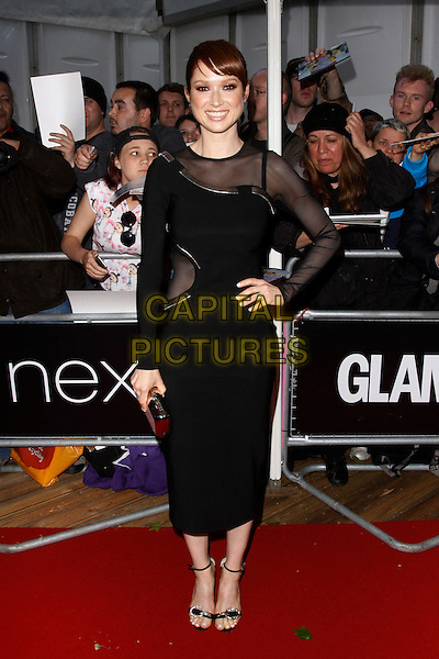 LONDON, ENGLAND - JUNE 02 :  Ellie Kemper arrives at the Glamour Women Of The Year Awards at Berkeley Square Gardens on June 02, 2015 in London, England.<br /> CAP/AH<br /> &copy;AH/Capital Pictures