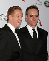 LOS ANGELES - OCT 26:  Damian Lewis, Matthew Macfadyen at the 2018 British Academy Britannia Awards at the Beverly Hilton Hotel on October 26, 2018 in Beverly Hills, CA