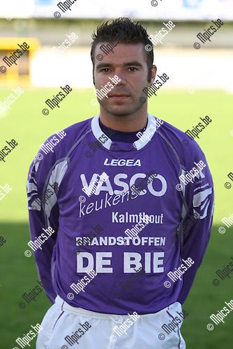 2007-08-04 / Voetbal / Gooreind / Jordy Cox