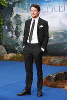 Jack O'Connell arriving for the Maleficent Private Costume Reception, at Kensington Palace, London. 08/05/2014 Picture by: Alexandra Glen / Featureflash