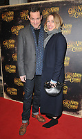 Bertie Carvel and Sally Scott at the &quot;Girl From The North Country&quot; press night, Noel Coward Theatre, St Martin's Lane, London, England, UK, on Thursday 11 January 2018.<br /> CAP/CAN<br /> &copy;CAN/Capital Pictures