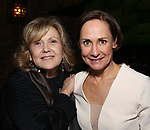 """Brenda Vaccaro and Laurie Metcalf  during the Opening Night After Party for """"Three Tall Women"""" at the Bowery Hotel on 3/29/2018 in New York City."""